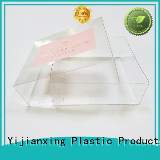 Custom folding container plastic food packaging Yijianxing Plastic Products silver
