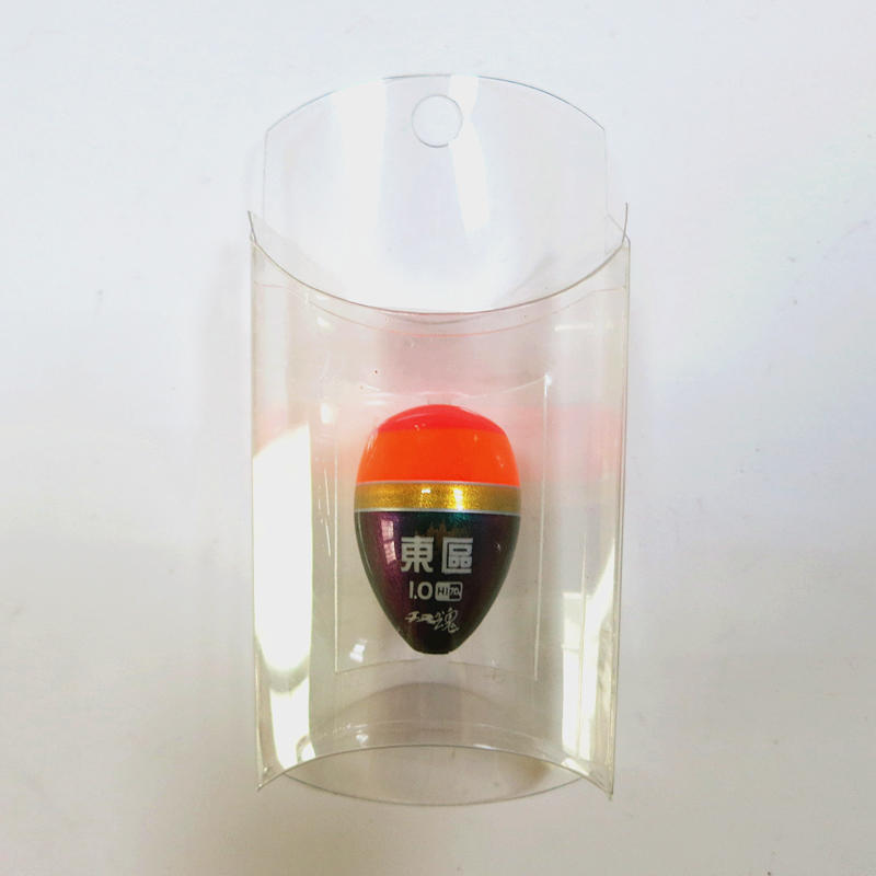 PVC clear plastic pack transparent pillow box for fishing float