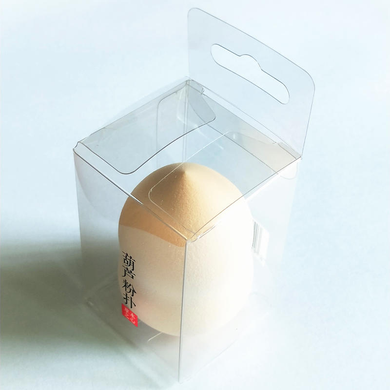 Plastic Clear package PVC boxes packaging for cosmetics tool