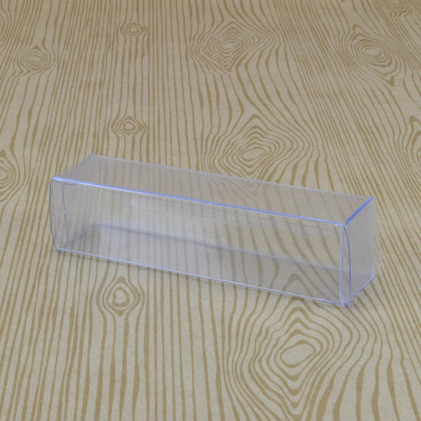 plastic PVC acetate transparent clear folding carton
