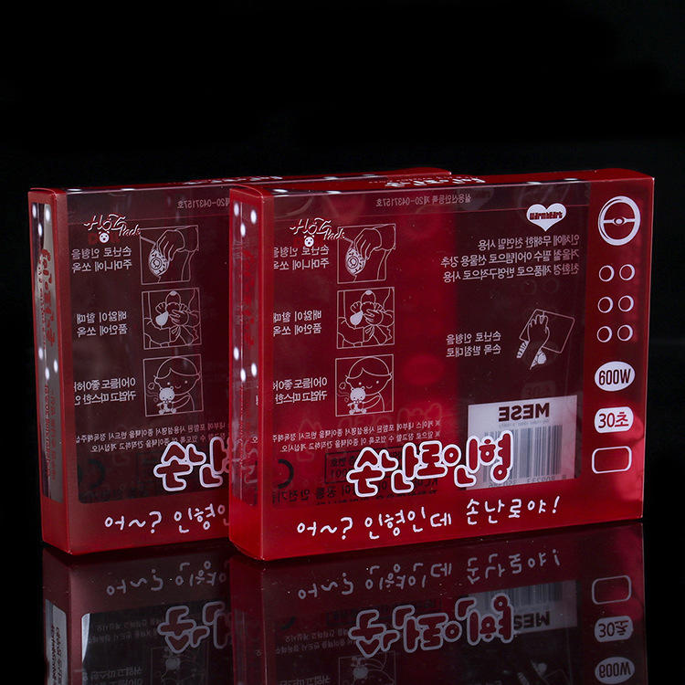 custom printed clear transparent pvc box manufacturer