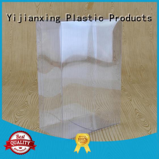 printing plastic box packaging semitransparent free design for food