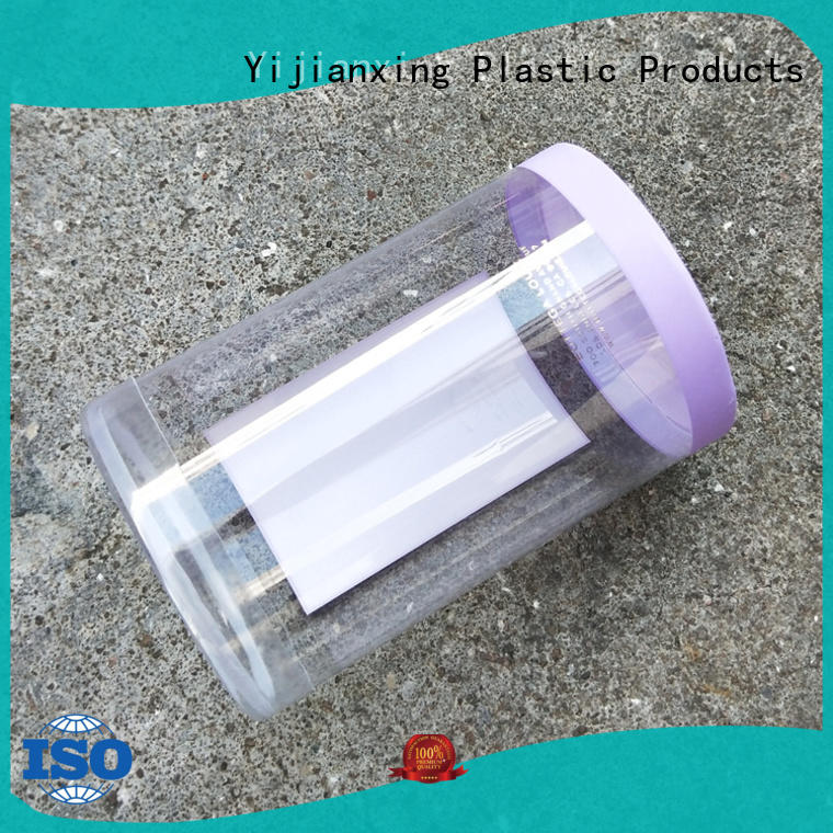 Yijianxing Plastic Products superior customized design plastic tube packaging from manufacturer for biscuits