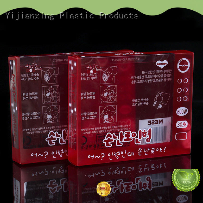 superior food packaging plastic boxes window bulk production for packing