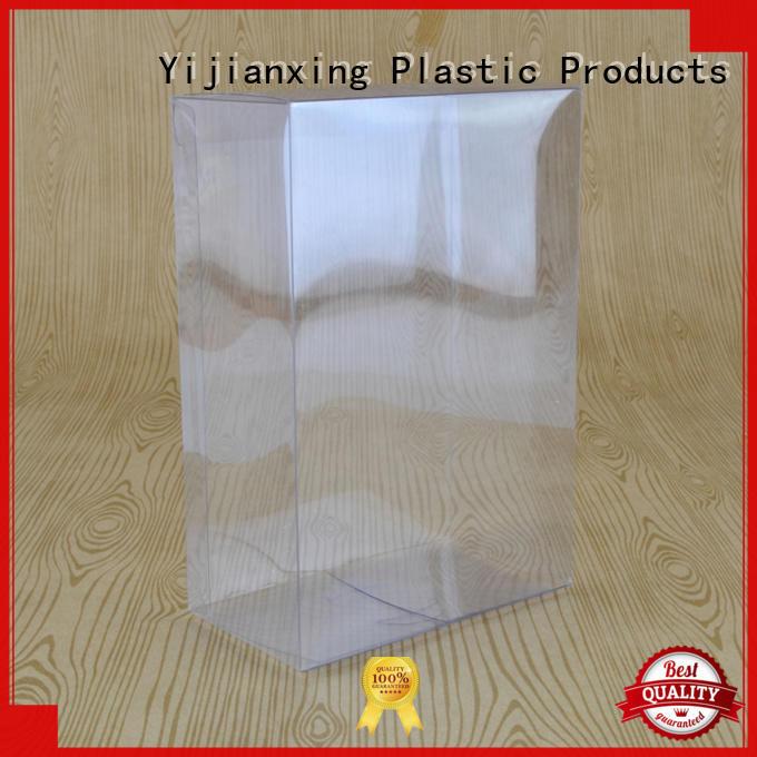 plastic PVC acetate transparent clear folding carton