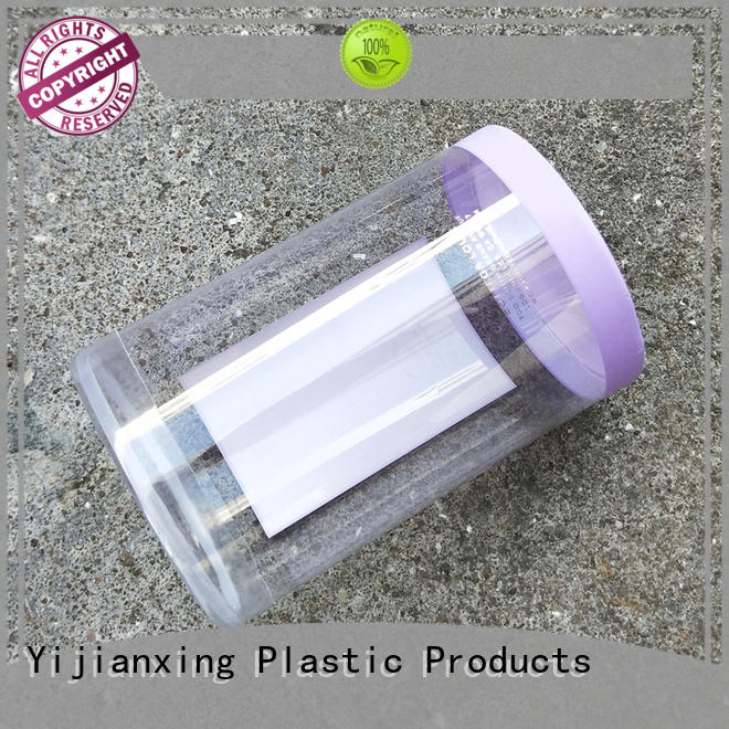 Yijianxing Plastic Products hot-sale customized plastic tube packaging free quote for biscuits